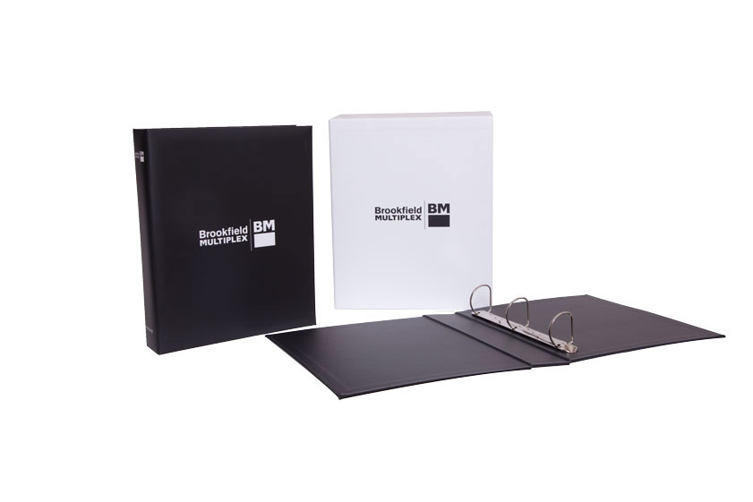 A4 3 Ring Binder with Slipcase