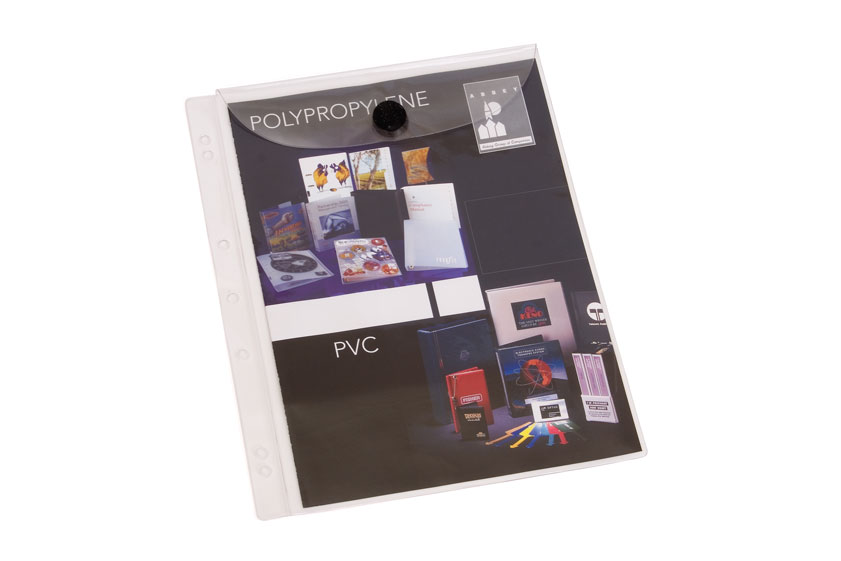 Binder Page Velcro Close