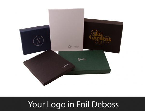 Foil Deboss Printing of Premium Luxury Boxes
